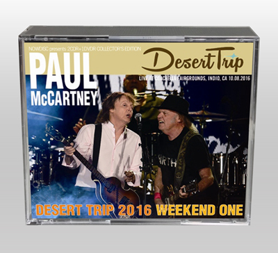 PAUL McCARTNEY - DESERT TRIP 2016: WEEKEND ONE