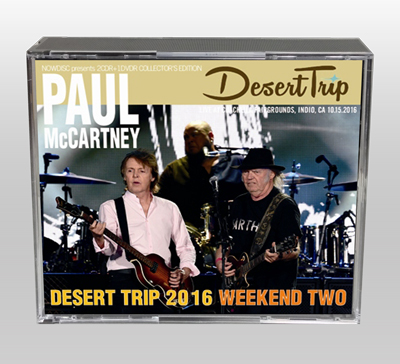 PAUL McCARTNEY - DESERT TRIP 2016 WEEKEND TWO