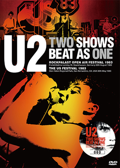 U2 - TWO SHOWS BEAT AS ONE