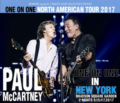 PAUL McCARTNEY - ONE ON ONE NORTH AMERICA TOUR 2017: MSG TWO NIGHTS