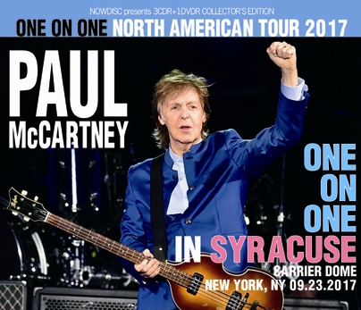 PAUL McCARTNEY - ONE ON ONE IN SYRACUSE