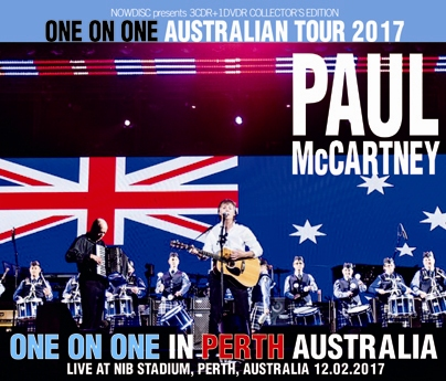 PAUL McCARTNEY - ONE ON ONE IN PERTH: ONE ON ONE AUSTRALIAN TOUR 2017