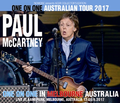 PAUL McCARTNEY - ONE ON ONE IN MELBOURNE 2017
