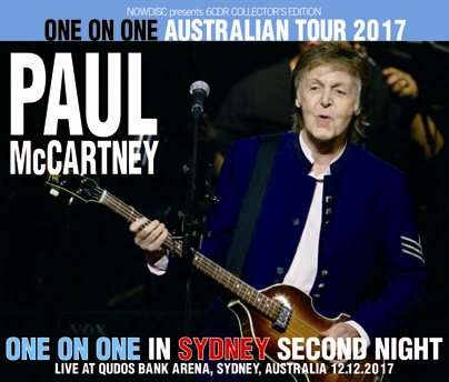 PAUL McCARTNEY - ONE ON ONE IN SYDNEY second night: ONE ON ONE AUSTRALIAN TOUR 2017