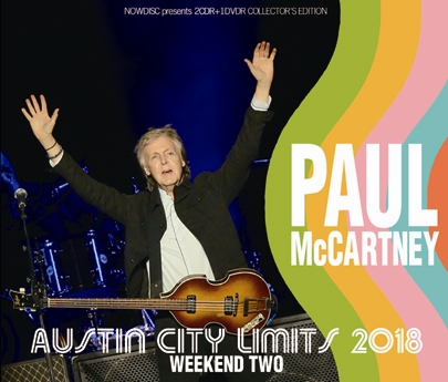 PAUL McCARTNEY - AUSTIN CITY LIMITS 2018: WEEKEND TWO