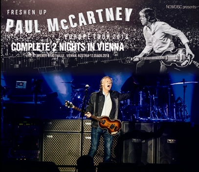 PAUL McCARTNEY - FRESHEN UP TOUR 2018: COMPLETE 2 NIGHTS IN VIENNA