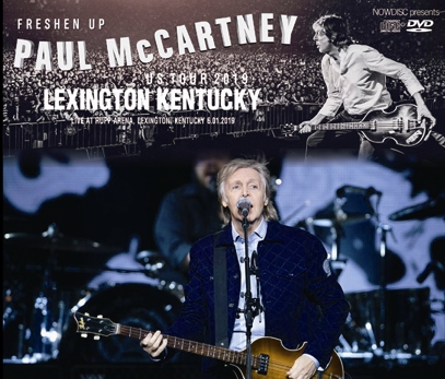 PAUL McCARTNEY - FRESHEN UP TOUR 2019: LEXINGTON KENTUCKY (3CDR+1DVDR)