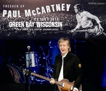 PAUL McCARTNEY - FRESHEN UP TOUR 2019 : GREEN BAY WISCONSIN (3CDR)