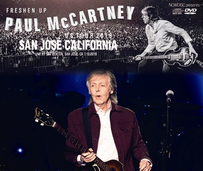 PAUL McCARTNEY - FRESHEN UP US TOUR 2019: SAN JOSE CALIFORNIA (3CDR+1DVDR)
