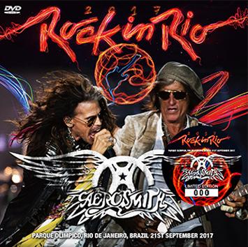 AEROSMITH - ROCK IN RIO 2017 DVD