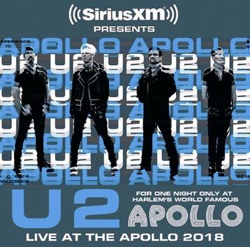 U2 - LIVE AT THE APOLLO 2018