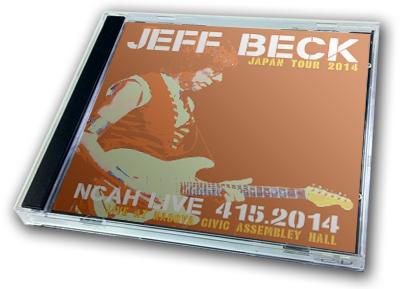 JEFF BECK - NCAH LIVE 415.2014 : JAPAN TOUR 2014