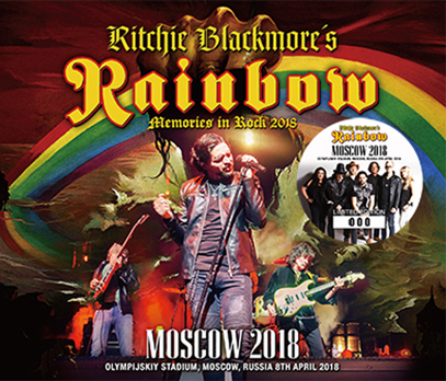 RITCHIE BLACKMORE'S RAINBOW - MOSCOW 2018