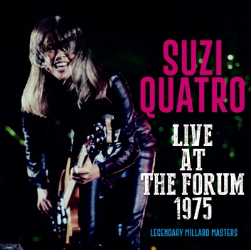 SUZI QUATRO - LIVE AT THE FORUM 1975 (1CDR)