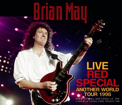 BRIAN MAY - LIVE RED SPECIAL 1998: ANOTHER WORLD TOUR (4CDR)