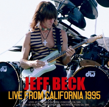 JEFF BECK - LIVE FROM CALIFORNIA 1995 (2CDR)