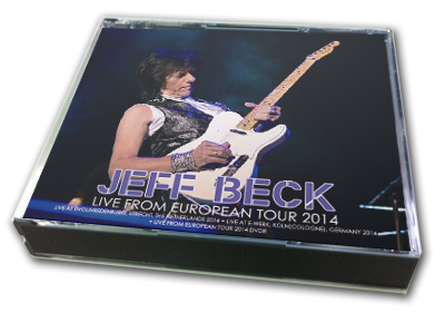 JEFF BECK - LIVE FROM EUROPEAN TOUR 2014