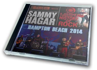 SAMMY HAGAR - A JOURNEY THROUGH THE HISTORY OF ROCK : HAMPTON BEACH 2014