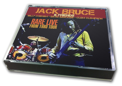 JACK BRUCE - RARE LIVE FROM 1980 TOUR