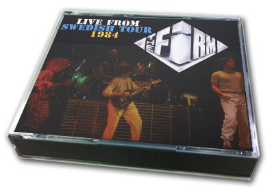 FIRM - LIVE FROM SWEDISH TOUR 1984