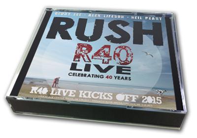 RUSH - R40 LIVE KICKS OFF 2015