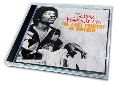 JIMI HENDRIX - THE LAST CONCERT IN SWEDEN