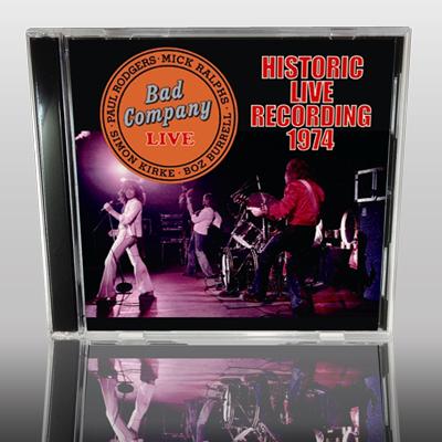 BAD COMPANY - HISTORIC RECORDING 1974