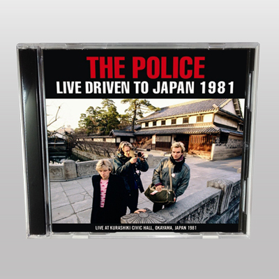 POLICE - LIVE DRIVEN TO JAPAN 1981