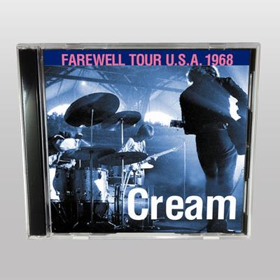 CREAM - FAREWELL TOUR U.S.A. 1968