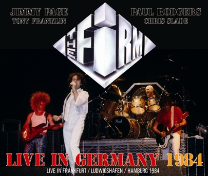 THE FIRM - LIVE IN GERMANY 1984