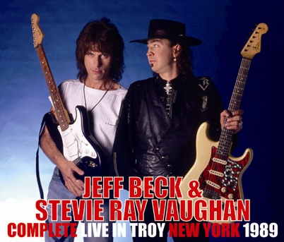 JEFF BECK & STEVIE RAY VAUGHAN - COMPLETE LIVE IN TROY NEW YORK 1989