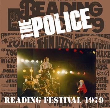 POLICE - READING FESTIVAL 1979