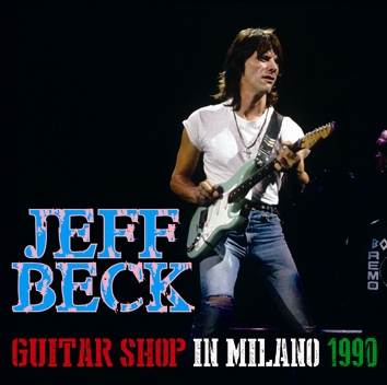 JEFF BECK - GUITAR SHOP IN MILANO 1990