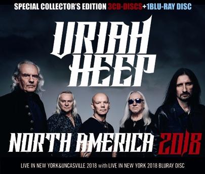 URIAH HEEP - NORTH AMERICA 2018