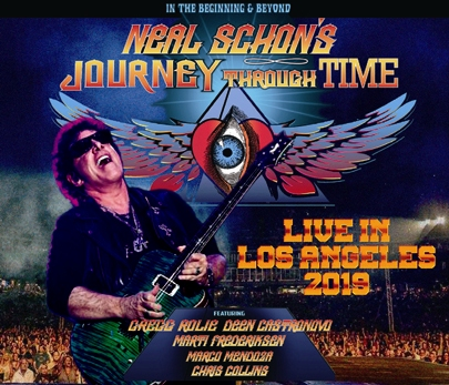 NEAL SCHON'S JOURNEY THROUGH TIME - LIVE IN LOS ANGELES 2019(3CDR)