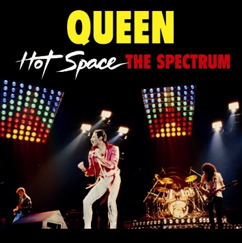 QUEEN - HOT SPACE THE SPECTRUM (2CDR)