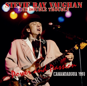 STEVIE RAY VAUGHAN & DOUBLE TROUBLE - CANANDAIGUA 1990 (2CDR)