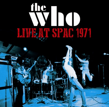 THE WHO - LIVE AT SPAC 1971 (2CDR)