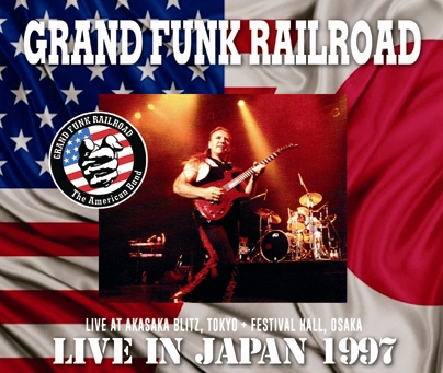 GRAND FUNK RAILROAD - LIVE IN JAPAN 1997 (3CDR)