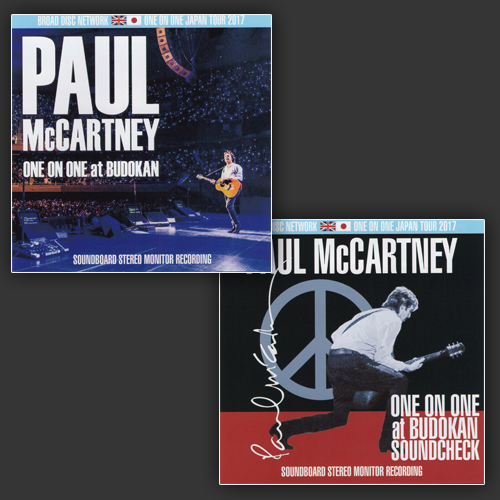 PAUL McCARTNEY - ONE ON ONE JAPAN TOUR 2017 SET
