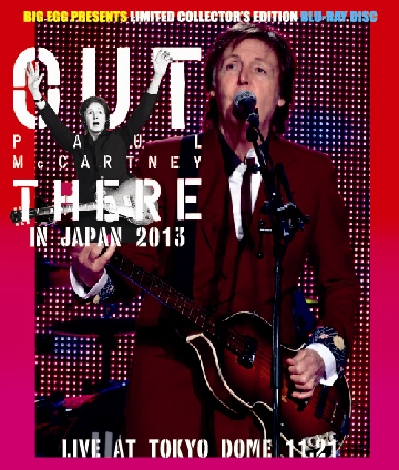 PAUL McCARTNEY - OUT THERE IN JAPAN 2013