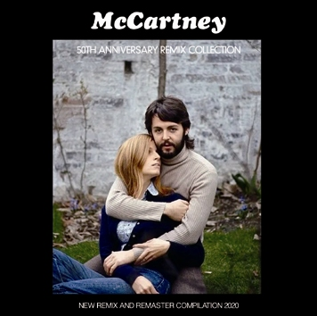 PAUL McCARTNEY - McCARTNEY (FIRST SOLO ALBUM 1970) : 50TH ANNIVERSARY REMIX COLLECTION(1CDR)