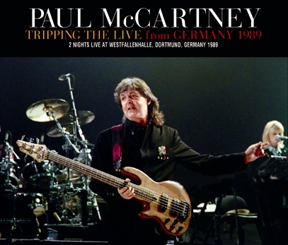 PAUL McCARTNEY - TRIPPING THE LIVE FROM GERMANY 1989 (4CDR)