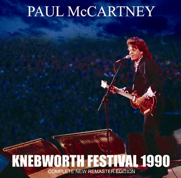 PAUL McCARTNEY - KNEBWORTH FESTIVAL 1990 (1CDR)