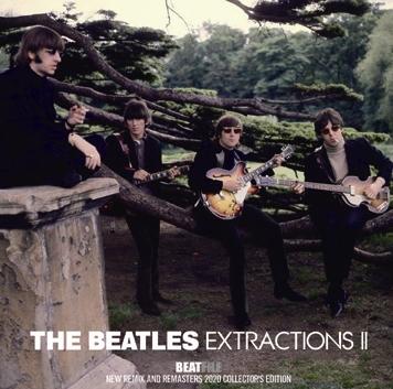 THE BEATLES - EXTRACTIONS II (1CDR)
