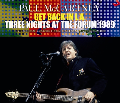 PAUL McCARTNEY - GET BACK IN L.A.: THREE NIGHTS AT THE FORUM 1989 (6CDR)