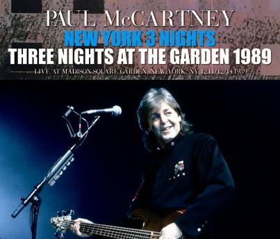 PAUL McCARTNEY - NEW YORK 3 NIGHTS: THREE NIGHTS AT THE GARDEN 1989 (6CDR)