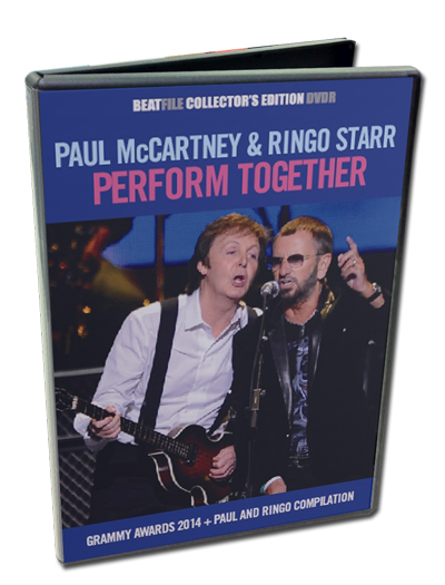 PAUL McCARTNEY & RINGO STARR - PERFORM TOGETHER