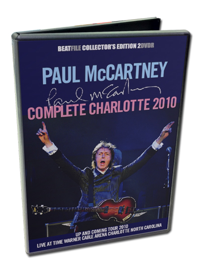 PAUL McCARTNEY - COMPLETE CHARLLOTE 2010