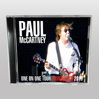 PAUL McCARTNEY - ONE ON ONE TOUR SOUNDCHECK 2016